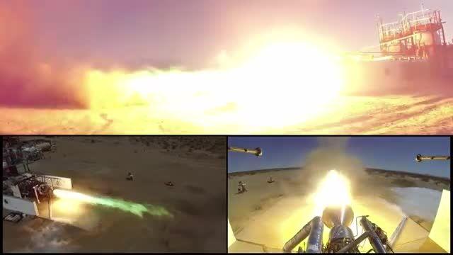 آزمایش  راکت پیشرانه موشک های جدید ناسا 2016