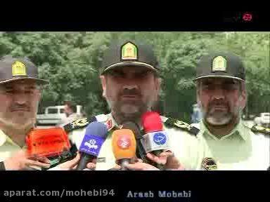 دستگیری سارقان به عنف توسط پلیس پایتخت