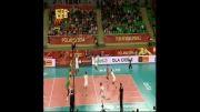 والیبالیست های ایرانی The Iranian volleyball players