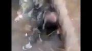 دستگیری تروریست داعش مثل موش از فاضلاب