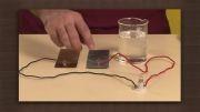چطور با اب اسید و روی و مس باطری درست کنیم