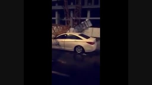 سقوط یک جرثقیل دیگر در مکه