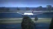 عجیب ترین فرود هواپیما!!!!!