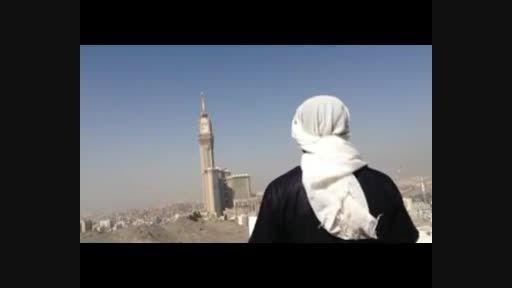 بیعت تروریست سعودی با داعش در مکه !