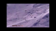 حمله هوایی آمریکا ب مواضع داعش:))
