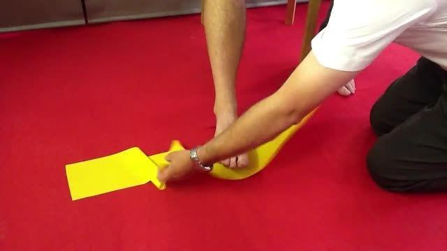 فیزیوتراپی جهت کاهش درمان صافی کف پا