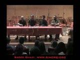 قسمت هایی از کنفرانس خبری ارکستر سیمرغ