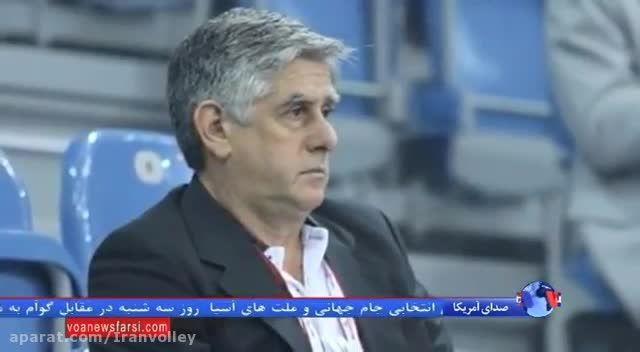 تحلیل مظفری از حضور لوزانو در تیم ملی والیبال ایران