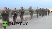 تمرینات دشوار زنان کُرد برای جنگ با داعش