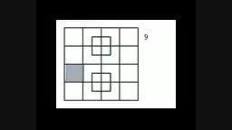 جواب سوال تعداد مربع ها در پیج اینستا