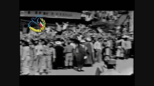 رژه ارتش در حضور امام خمینی (ره)