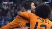 گل کریس رونالدو در بازی رئال مادرید ومالاگا هفته 28