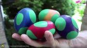 آموزش ساخت توپ های تخم مرغی شگفت انگیز