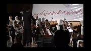 اجرای سرود ملی جمهوری اسلامی ایران توسط هنرجویان
