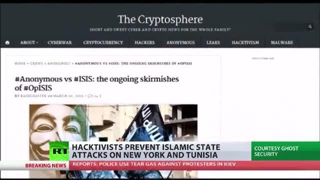جنگ سایبر گروهی از هکرهای سفید علیه داعش ISIS