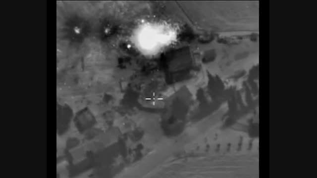 پایگاه مرکزی داعش در سوریه نابود شد