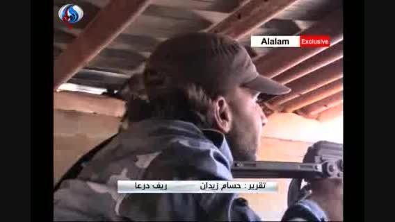 گزارش ویژه از عملیات ارتش سوریه نزدیک مرز اردن