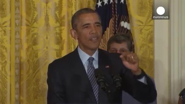 اوباما : تغییرات آب و هوایی مهمترین تهدید بشری