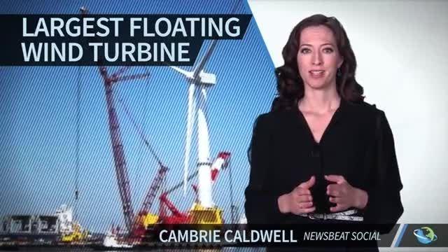 بزرگ ترین توربین بادی شناور توسط ژاپن ها ساخته شد