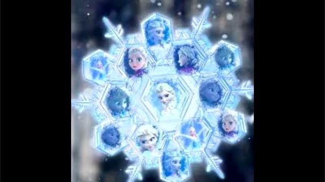 السا تو یکی از یخ هایی که خودش درس کرده