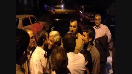 درد دل هسته ای یک خانم همدانی با احمدی نژاد