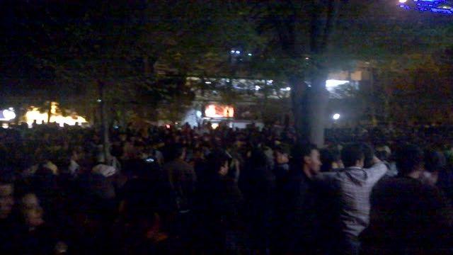 جشن توافق هسته ای، جمعه 14 فروردین 94 ، کرمانشاه-نوبهار