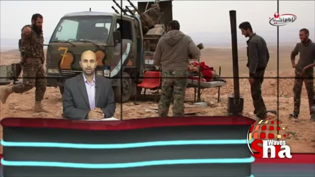 بیرون راندن تروریست های داعش از تدمر سوریه