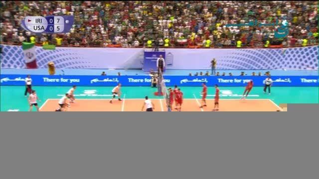 تیم ملی والیبال ایران در لیگ جهانی- ورزشگاه آزادی