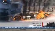 حمله انتحاری تروریست های کثیف وهابی در شهر حماه