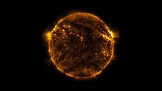 چکیده پنج سال تصویر برداری از خورشید