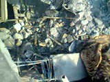 بعد از قوع حادثه مرگبار ساختمان تبریز(الان مبینید ساختمان طبقه یک است همشون ریختند)