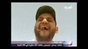 افتخار عجیب مرد عرب: خوردن 22 عقرب زنده در 20 ثانیه!