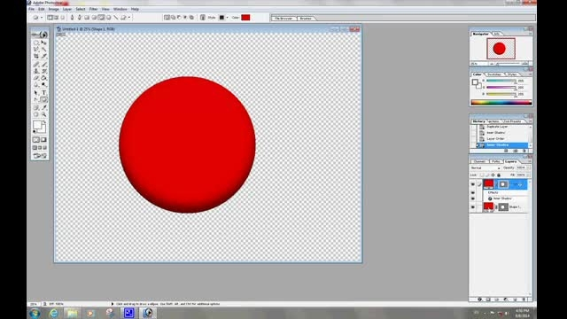 ترفند ساده ساخت گوی های رنگی در فتوشاپ.