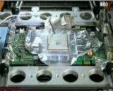 آموزش تعمیرات کامپیوتر تعویض چیپ کارت گرافیک  با هیتر لیزری8