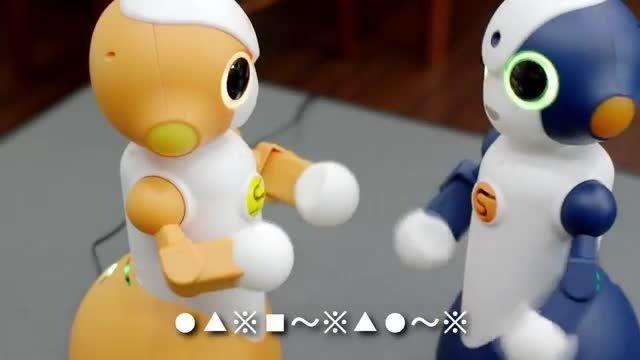 ربات NTT ژاپن برای مراقبت در خانه های سالمندان