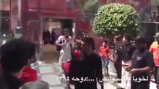 فحاشی بازیکن پرسپولیس به هوادار در عربستان