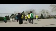 منخب حرکات من در فینال مسابقات دهه فجر دبیرستان شهید اژه ای