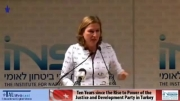 سخنان لیونی درباره سیاست خارجی اسراییل در قبال ترکیه