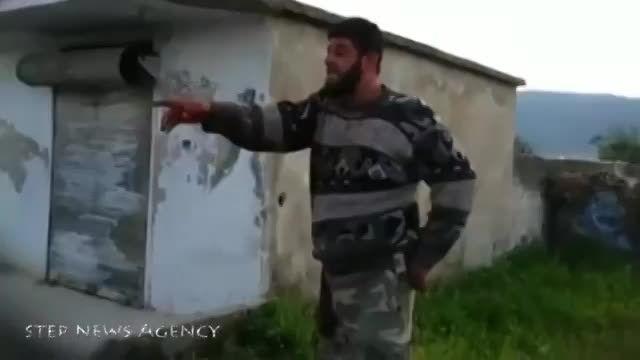 شهادت سرباز اسیر بی دفاع سوری