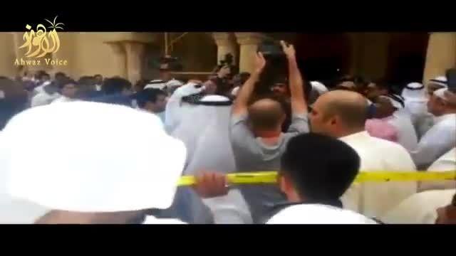 تصاویر اولیه از انفجار انتحاری مسجد امام صادق ع در کویت