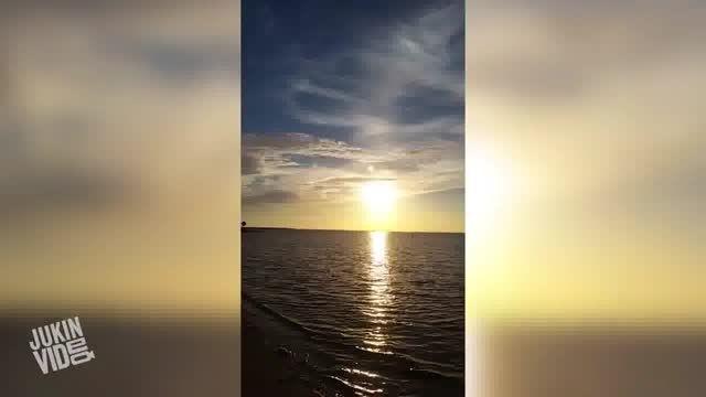 تصویر جالب وجود دو خورشید همزمان در آسمان