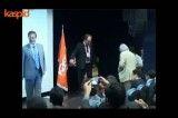 دکتر روستا، ابرج جمشیدی در مراسم اهدای جوایز کاسپید