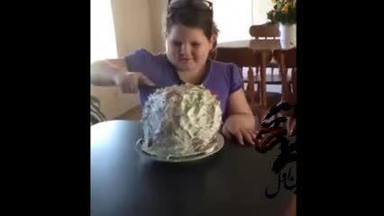 کیک جنس بادکنکی