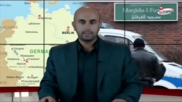 پلمپ شدن مسجد ضرار تکفیری ها در آلمان