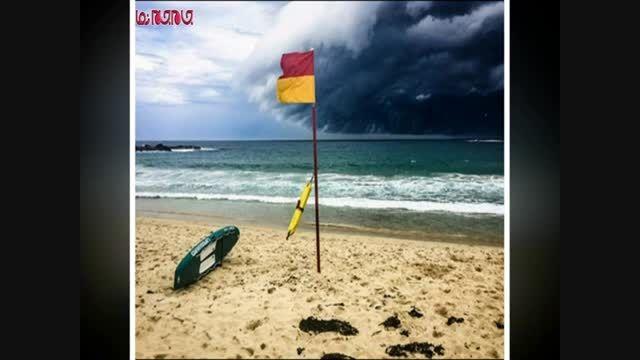 امواج مهیب «ابر سونامی» در آسمان سیدنی گلچین صفاسا