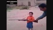 آموزش وحشتناک جنگ به کودکان سوری..