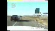 حادثه وحشتناک ازدست راننده حواسپرت!!!