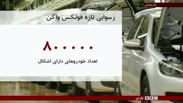 رسوایی جدید برای فولکس واگن - ایران جیب