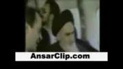 احساس امام خمینی قبل از ورود به ایران در هواپیما