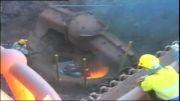 حادثه انفجار حین جوشكاری